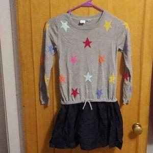 Girls size 8 sweater dress